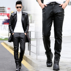 Кожаные брюки Others 2017