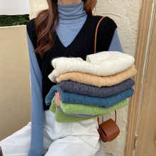 Fall and winter new style school style outside wear a scarf sweater