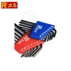 Ключ имбусовый (шестигранный) 台湾力高精密内六角微型内六角扳手l型六棱扳手英制迷你六角组套