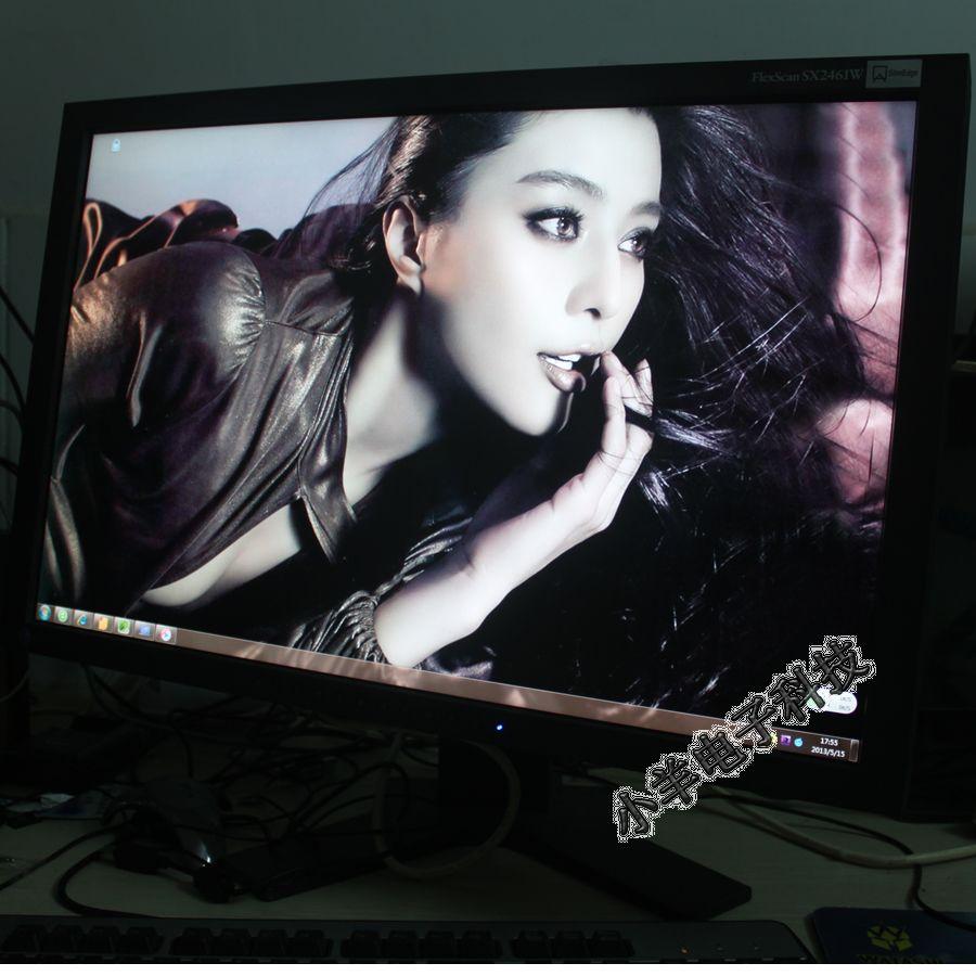 设计/24寸艺卓EIZO专业液晶显示器SX2461W 绘图印刷设计显示器超...