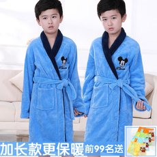 Boys dressing gown bathrobe 2014