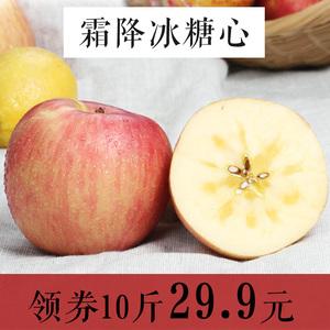 果佳家 高山霜降冰糖心苹果10斤包邮 新鲜水果批发非阿克苏红富士红富士