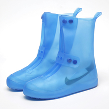 Waterproof rainy day men and women thicken anti-skid adult rainboot cover students outdoor children tremble net red rainproof shoe cover