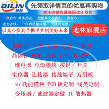 Electronic Components with Single IC Chip Resistance Capacitance Integrated Circuit BOM Table Quote One-stop Matching
