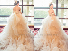 Wedding dress hs160097 2016