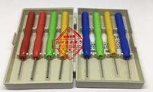Hollow needle non stick tin stainless steel hollow needle to remove electronic components special tool remove capacitance needle 8.