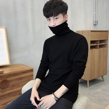 High collar sweater for men in autumn and winter