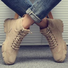 Martin boots men's high-end work clothes shoes men's trend all kinds of warm casual shoes men's shoes new thickened army boots trend