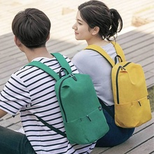 Xiaomi colorful backpack backpack backpack backpack leisure travel light student outdoor men and women simple Mini schoolbag