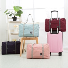 Travel bags, handbags, short trips, light folding canvas, receipt bags, waiting bags, travel bags, large capacity bags