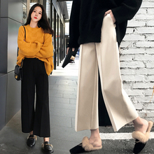 Pregnant women trousers, spring and autumn, 2018 new styles, spring and winter wear, thick legs, bottoming trousers, trousers and trousers.