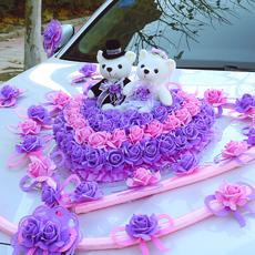 Свадебные цветы для украшения автомобиля Huasong