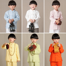 Chinese traditional outfit for children Lanzhiyi