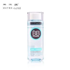 新品 美宝莲8效合一舒洁卸妆液 卸妆水BB霜专用 清爽温和无油正品