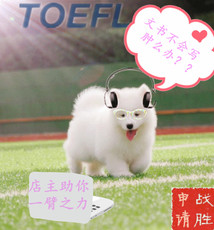 TOEFL/IELTS Give me your blessing Wfu