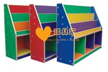 Cabinet storage locker Cabinet in kindergarten childrens toy Cabinet clean Cabinet-color Deluxe bookcase twin cabinets