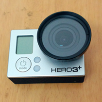 GOPRO UV�R �m��Hero3/3+ Gopro UV���o�R TELESIN 37MM UV
