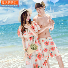 Купальник для пары Beach love s15dy04