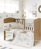 Love bears. Britains Mothercare baby bedding set combination of child beds surrounding child blanket quilt cover new