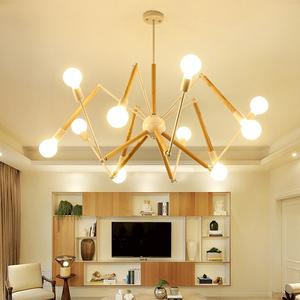 后现代吊灯客厅设计师创意北欧餐厅个性卧室蜘蛛风格简约大气灯具吊灯