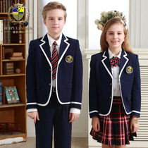 Primary school children in England Academy class clothing