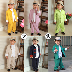 Chinese traditional outfit for children Flowers