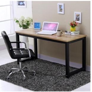 特价简约办公桌钢木桌台式电脑桌子写字台宜家电脑桌简易书桌定做