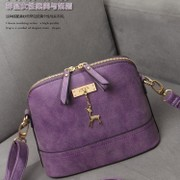 In the spring of 2015 new handbags frosted leather shell small bag fashion handbag shoulder bag bag