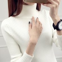 High collar, autumn and winter, new style, foreign style and knitted sweater