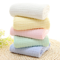 6 layers of gauze towel cotton childrens blankets by baby air thickened more class a fluorescent additive factory outlet