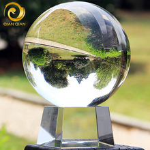 White Crystal Ball Makes Money Feng Shui Transparent Ball Photography Photographs Glass Home Decorations Living Room Table Arrangements