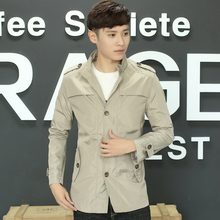 Men's Outerwear spring and autumn 2019 new jacket men's Korean Trend loose and handsome autumn and winter casual bomber