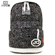 2013 new shoulder bag female Korean Institute of wind tide men casual canvas backpack schoolbag