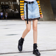 Skirt PEACEBIRD awge73455 2017