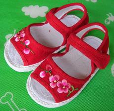 текстильная детская обувь