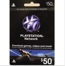 ��� SONY PSP PS3 PSN$50����Ԫ ���� ����ֵ�c��