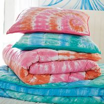 PBTEEN*2016 new tie-dyed cotton hand-quilted bed cover spring pillowcases