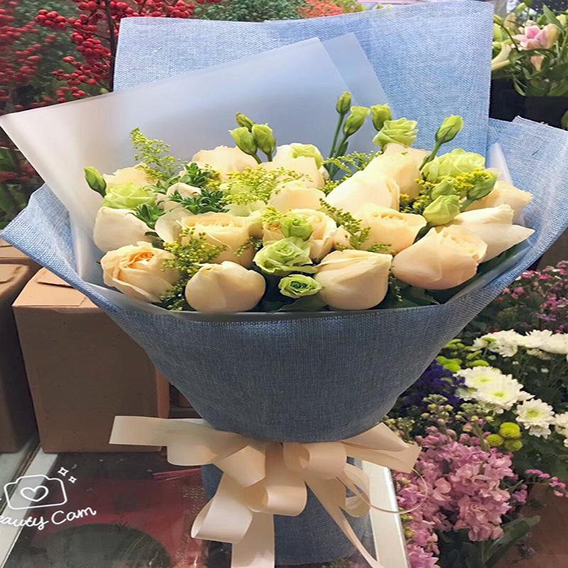 11朵花湖北十堰市张湾茅箭区同城鲜花店速递送花上门