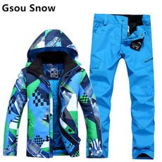 Лыжный брючный костюм Gsou snow 5214