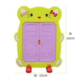 幼儿园塑料口杯架儿童卡通可爱茶杯架早教中心宝宝水杯架子储物柜