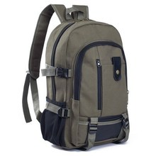Men's Backpack Travel Li large capacity leisure backpack for men's annual canvas clothes