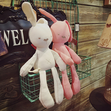 Baby comfort toys newborn can chew educational cloth doll baby plush doll comfort rabbit sleep with