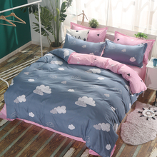 Yiai love Quilt Set single person 150 200 220 college students dormitory 1.5m/1.8/2m quilt cover double person