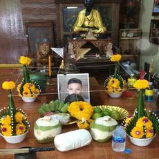 Тайский сувенир Тай-буддистском жизни трубки пара