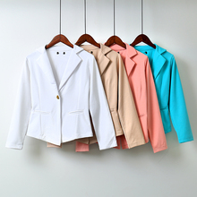 Spring and autumn casual slim coat suit top