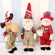 Santa Claus, snowman, elk doll, Christmas decorations, gifts, shopping mall, KTV decorations