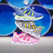 Children's shoes girls' shoes 2019 new sports spring girls' Shoes Boys' casual shoes breathable mesh shoes children's running shoes