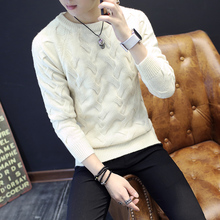 Korean knitted warm and thickened sweater in autumn and winter
