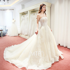 Wedding dress Man Ting Fang s081
