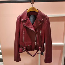 Leather jacket OTHER atja7dz10 08/10 AT.CORNER